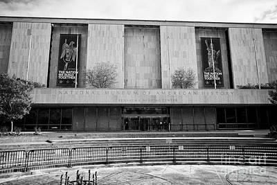 Smithsonian Museum Photograph - smithsonian national museum of american history kenneth behring center Washington DC USA by Joe Fox