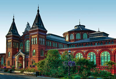 Photograph - Smithsonian's Arts And Industries Building by Don Lovett