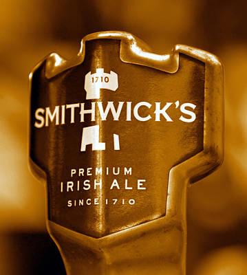 Photograph - Smithwicks Beer 1710 by David Lee Thompson