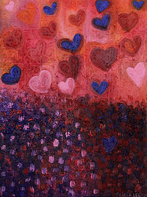 Painting - Smitten. by Tricia lee Kelshall