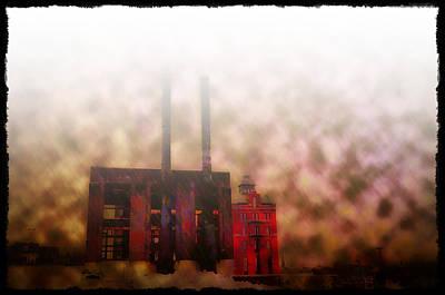 Smoggy Day Art Print