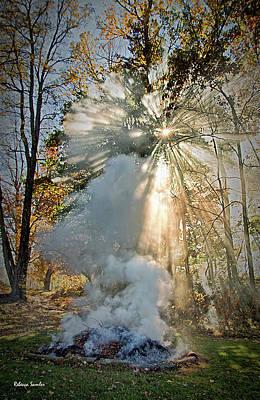 Photograph - Smoke And Fire by Rebecca Samler