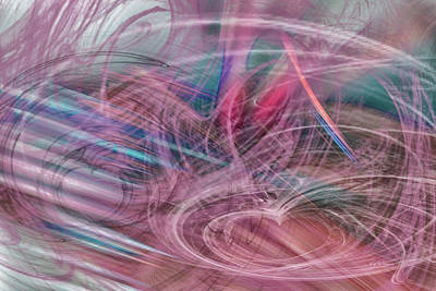 Digital Art - Smoke And Mirrors 2 by Bill Posner