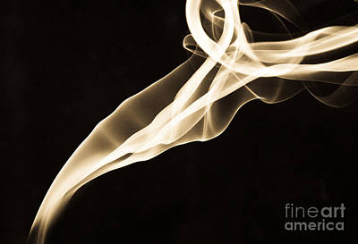 Smoke And Mirrors Art Print by Valerie Morrison