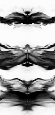 Photograph - Smoke Art 1 by Sumit Mehndiratta