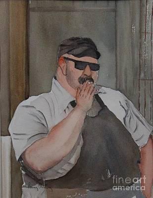 Painting - Smoke Break by Penny Stroening