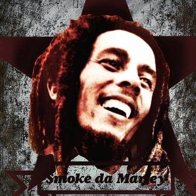 Photograph - Smoke Da Marley by Eddie G