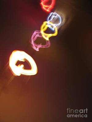 Photograph - Smoke In Colors by Ausra Huntington nee Paulauskaite