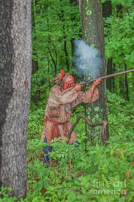 Digital Art - Smoke In The Forest Bushy Run by Randy Steele