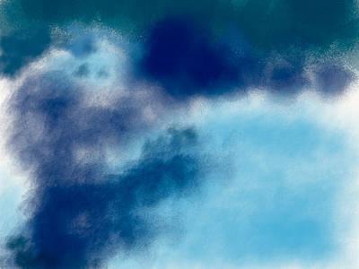 Smoke Into Clouds Original by Bill Owen