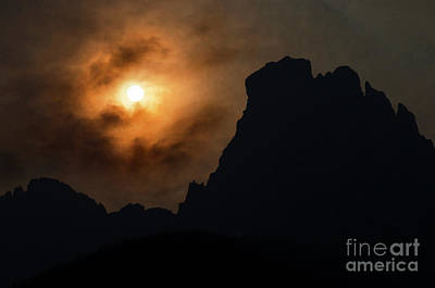 Photograph - Smoke Of A Distant Fire 7 by Bob Christopher