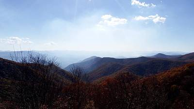 Smoke Of The Smokies Art Print