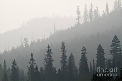 Photograph - Smoke On The Mountain 3 by Dennis Hedberg