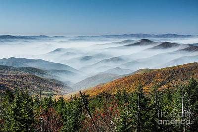 Photograph - Smoke On The Mountains by Debbie Green