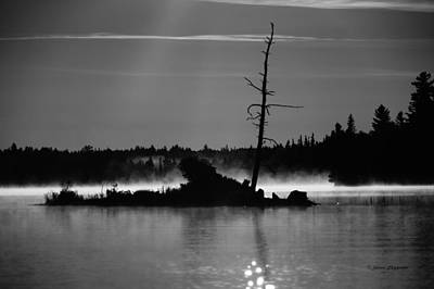 Photograph - Smoke On The Waters by Steven Clipperton