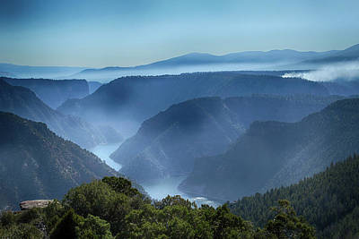 Photograph - Smoke Over Flaming Gorge by Marie Leslie