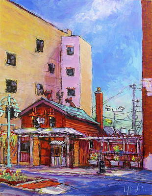 Painting - Smoke Shack by Les Leffingwell
