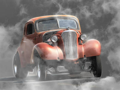 Photograph - Smoke Show by Steve McKinzie