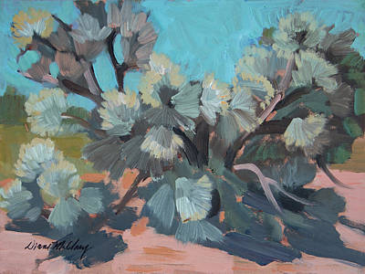 Painting - Smoke Tree At Santa Rosa Mountains by Diane McClary