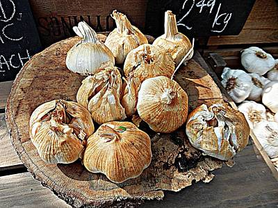 Photograph - Smoked Garlic by Dorothy Berry-Lound