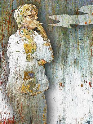 Painting - Smoker by Tony Rubino