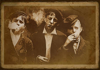 Photograph - Smokers by Susan Vineyard