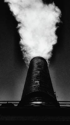 Photograph - Smokestack by Newel Hunter