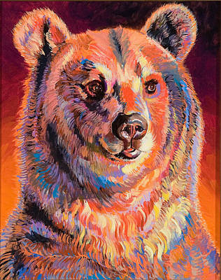 Abstract Realism Painting - Smokey by Bob Coonts