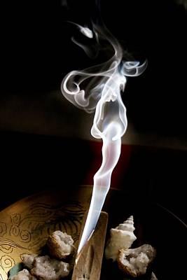 Photograph - Smokey Face by Karen Silvestri