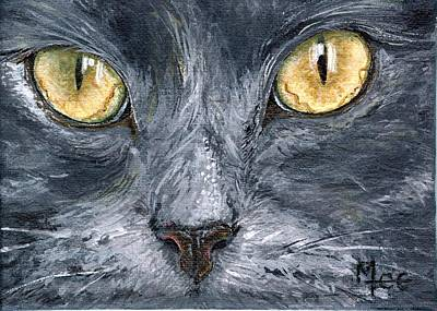 Smokey Art Print by Mary-Lee Sanders