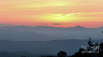 Photograph - Smokey Mnt Sunset by Rick Lipscomb