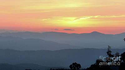 Photograph - Smokey Mnt Sunset by Rick Lipscomb