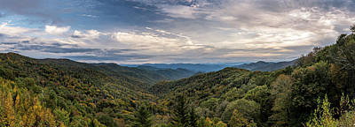 Art Print featuring the photograph Smokey Mountain Sky by David Morefield