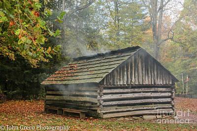 Photograph - Smokey Mountain Smoke House by John Greco