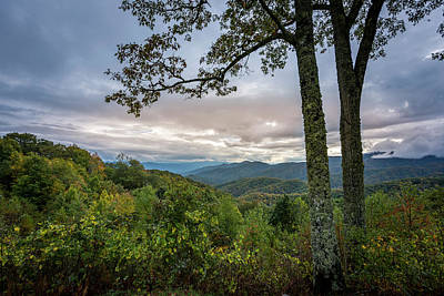 Photograph - Smokey Mountain Sunset by David Morefield