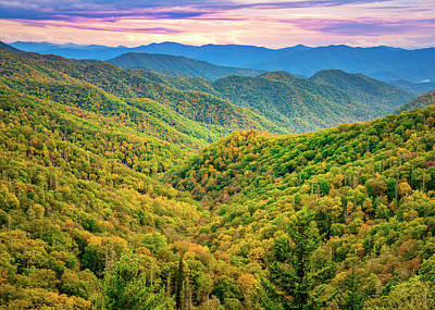 Photograph - Smokey Mountain Way by Andy Crawford