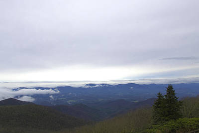 Photograph - Smokey Mountains 2 by Lindsey Weimer