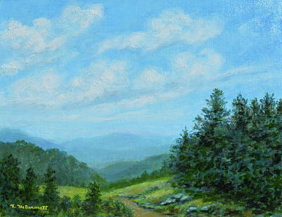 Painting - Smokey Mountains Calling Me by Kathleen McDermott