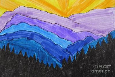 Smokey Mountains National Park Art Print by Jana Kelly