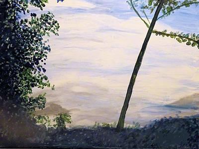 Smokey Mountains Painting - Smokey Mountains Summit by Claude Nivens