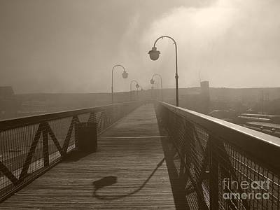 Railroad - Smokey Path by Raymond Earley