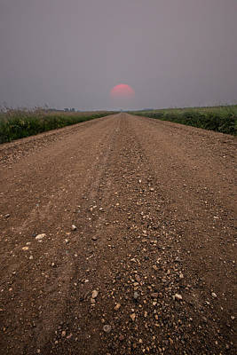 Photograph - Smokey Road To Nowhere by Aaron J Groen