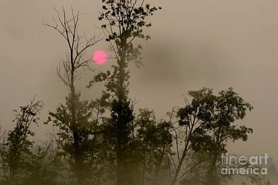 Photograph - Smokey Sunrise by Frank Townsley