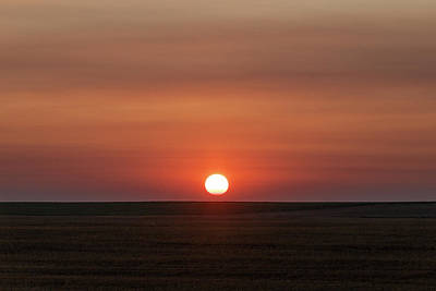 Photograph - Smokey Sunrise On Colorado's Plains by Tony Hake
