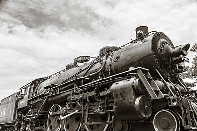 Photograph - Smokey Valley Railroad by Steven Bateson