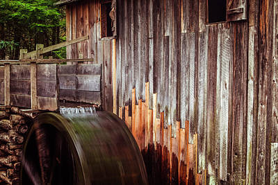 Cades Cove Photograph - Smokies Mill by Andrew Soundarajan