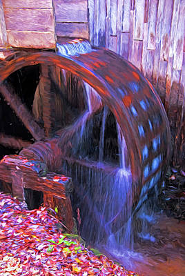 Mixed Media - Smokies Cable Mill by Dennis Cox Photo Explorer