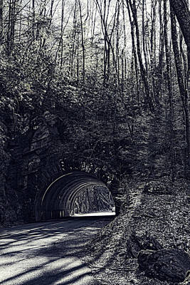 Photograph - Smokies Tunnel by Sharon Popek
