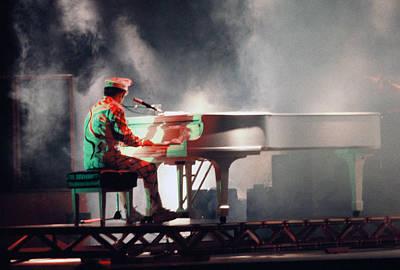 Elton John Photograph - Smokin' Elton by Scott Smith