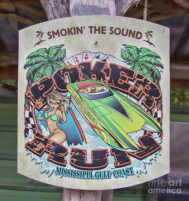 Photograph - Smokin The Sound Poker Run by Steven Parker